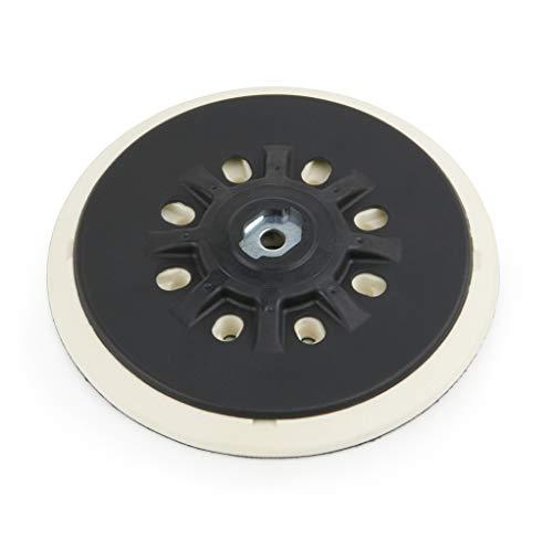 Klett Schleifteller für Festool | Ø 150 mm | Stützteller für Klett-Schleifpapier | passend zu Excenterschleifer Festool RO 150 mit Schleifteller 150mm Klett d150 Rotex | Aufnahme M8