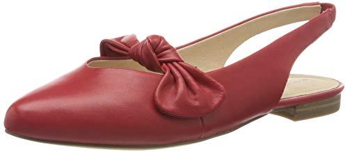 CAPRICE 29400-22 Mujer Zapatos de Tacon,Décolleté,Scarpe Col Tacco,Pelle,Moda