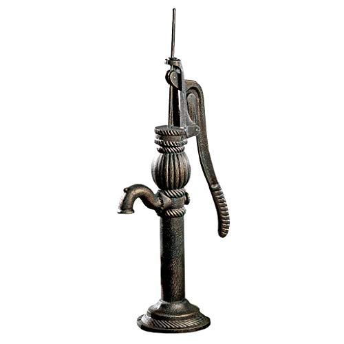 Design Toscano SP1122 - Bomba de Agua auténtica de Hierro