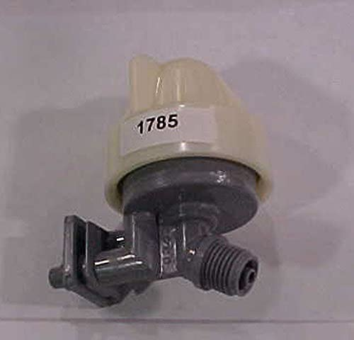 Kenmore 7187065 Water Softener Nozzle and Venturi Assembly Genuine Original Equipment Manufacturer (OEM) Part Gray and White