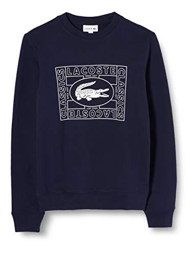 Lacoste Herren Sh8807 Sweatshirt, Blau (Marine 166), XXX-Large (Herstellergröße: 8)