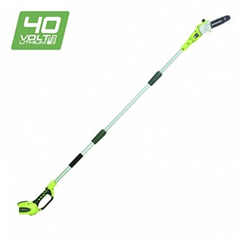 Greenworks 40V Akku-Hochentaster/Astschere 20cm, anpassbare Länge (ohne Akku und Ladegerät) - 20157