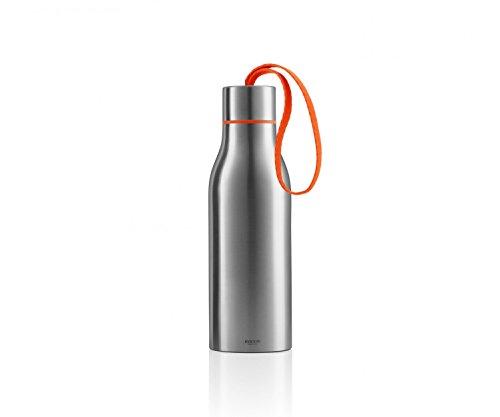 EVA SOLO Thermosflasche 0,5 L, Edelstahl, Orange, 7 x 7 x 23 cm
