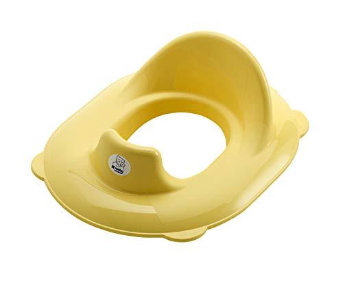 Rotho Babydesign TOP Réducteur de Siège de Toilette, À partir de 18 mois, TOP, Vanille Honey Pearl (Jaune), 200040236