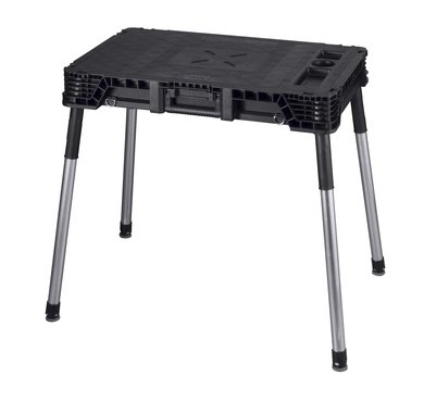Keter 17201233 Werkzeugbank JOBMADE Master Pro Serie Folding Work Table, Kunststoff,
