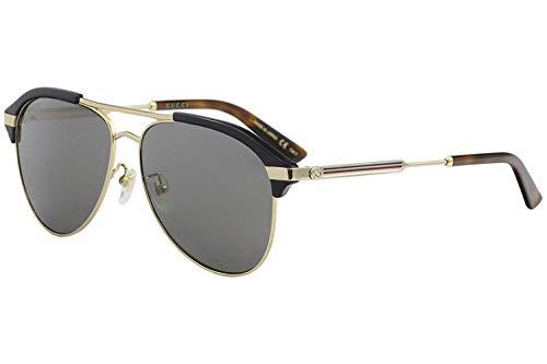 Sonnenbrillen Gucci GG0288SA BLUE/SILVER Herrenbrillen