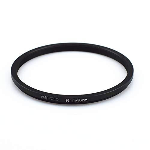 95mm-86mm Step-down-Ringe Filteradapter Ring,95mm bis 86mm Filter Adapterring- von Kamera Objektiv mit 95mm Filtergewinde auf 86mm Filter-Ring