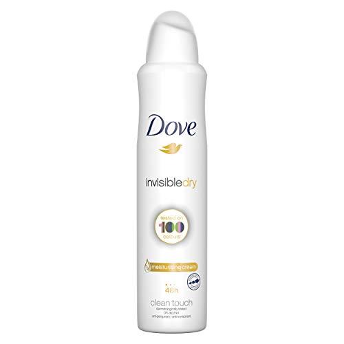 Dove Desodorante Antitranspirante Aerosol Antimanchas Invisible Dry 250 ml