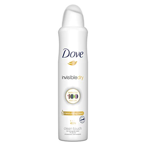 Dove Desodorante Antitranspirante Aerosol Antimanchas Invisible Dry 250 ml