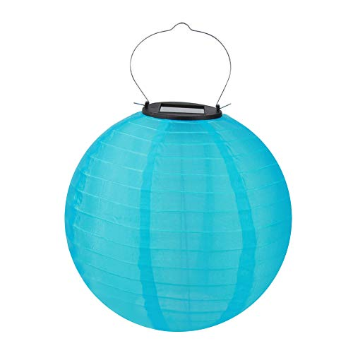 Paper Lanterns,Chinese Japanese Colorful Hanging Decorations Ball Lantern Lamps 20cm IP55 Lamp Outdoor Party Decor Hanging Light(Purple) for Home Decor,Parties,and Weddings