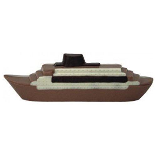 v11#062821 Schokoladen Motorboot, Schiff, Aida, VOLLMILCH, Geschenke, Hafen, Wasser, Geschenk, NEU