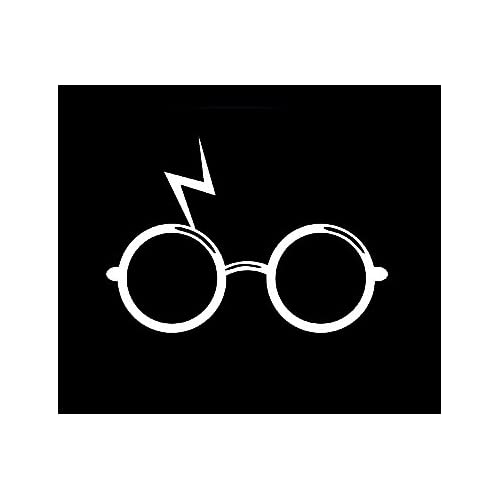 photo relating to Harry Potter Glasses Printable known as Gles Stickers: