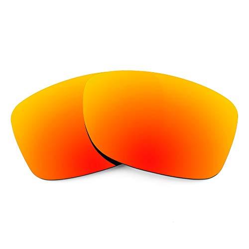 Revant Ersatzgläser für Oakley Jupiter Carbon, Polarisiert, Feuerrot MirrorShield