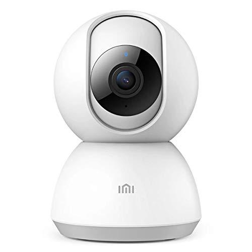 IMI WLAN IP Kamera,1080P HD Überwachungskamera Baby/Haustier/Zuhause Kamera mit Bewegungserkennung,unsichtbar IR Nachtsicht,2 Wege-Audio