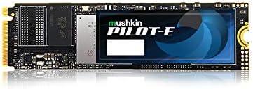 Mushkin Pilot-E – 1TB PCIe NVMe – Opal Data Encryption – M.2 (2280) Internal Solid State Drive (SSD) – Gen3 x4 – 3D TLC - (MKNSSDPE1TB-D8)