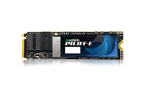 Mushkin Pilot-E 500 GB SSD, schwarz, PCIe Gen3 x4 NVMe 1.3, M.2 (2280)