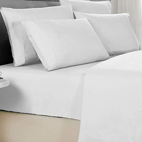 Delly King Size Bed Sheets Set (Black)