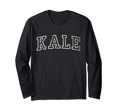 Vintage Eat More Kale Long Sleeve Shirt