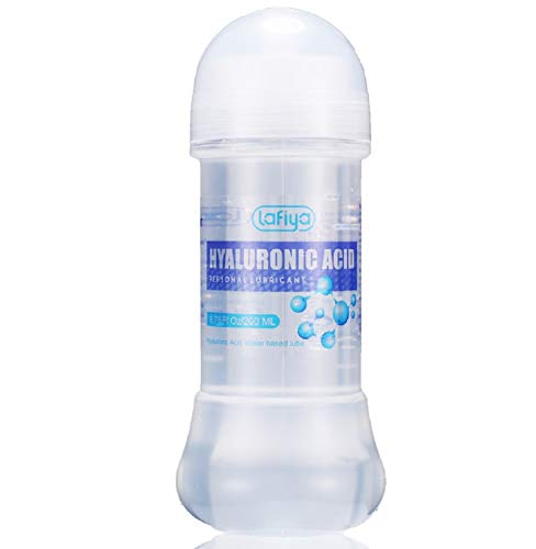 Hyaluronic Acid Personal Lubricant, Water Based lube for Vaginal and Anal Sex, Long Lasting Sexual Lubricant for Women, Men & Couple