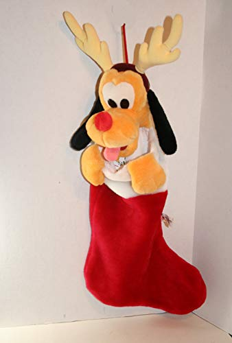Santa's Best Pluto Reindeer 21' Christmas Stocking