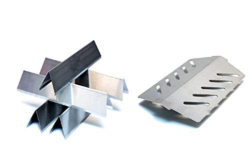Pièces de rechange en acier inoxydable pour Weber Genesis et Spirit série 300/200 (série Weber Spirit 300).