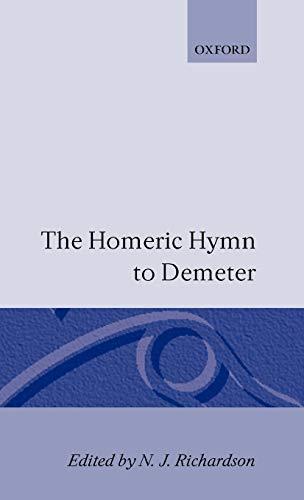The Homeric Hymn to Demeter