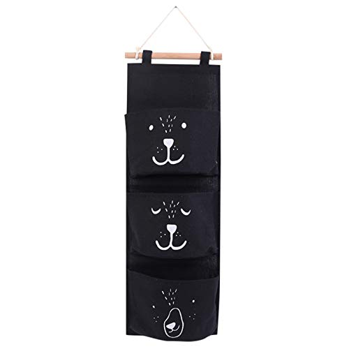 Yumeiyo Hängende Aufbewahrungstasche Aufbewahrung hängende Tasche faltbare Cartoon Tier hängende Tasche Wandtür hängende Aufbewahrungstasche Kinderzimmer (B)