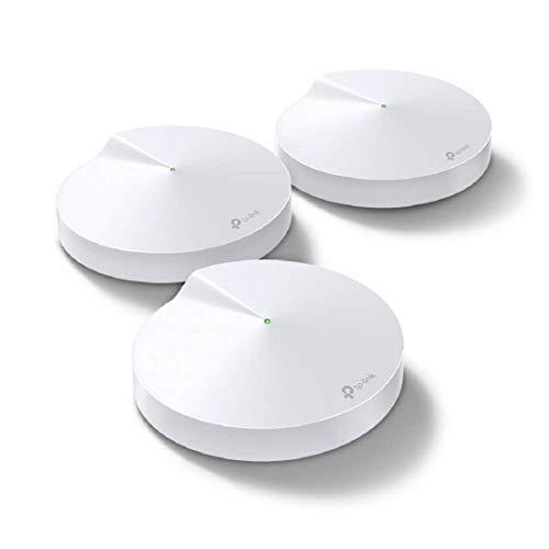 TP-Link Deco P7(3-pack) Système Hybride WiFi Mesh avec CPL 600Mbps pour toute la maison - Couverture WiFi de 560m2 - Installation Facile - Contrôle parental - Idéale pour grande maison de murs épais