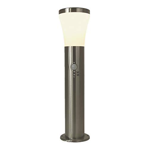 Edelstahl-LED-Außen-Sockel-Steh-Leuchte