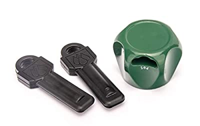 Flow Security Systems | Faucet Lock II | Magnetic Key | Keyed The Same | Prevents Water Theft & Secures Outdoor Taps | Promotes Water Conservation | Fits Most Outdoor Hose Bibbs | FSS 500 | 2 Pack