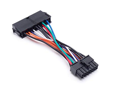 Must Have Gadgets 24 Pin to 14 Pin PSU Main Power Supply ATX Adapter Cable Cable Compatible with Lenovo IBM Motherboards