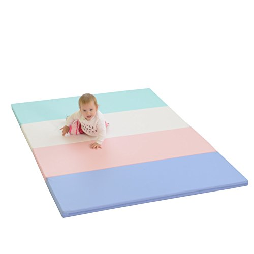 Sale!! LIUZEIMIN Extra thick baby crawling mat,Double sided Foldable Untasteless Play mats Portable ...