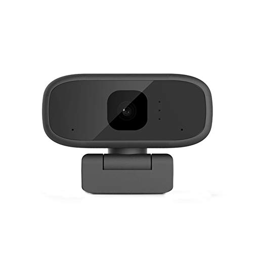 Webcam, Full HD 1280 x 720P with Noise-Reducing Mic USB Video Cam, Rotatable 360°, for Computer Laptop Desktop, Plug and Play