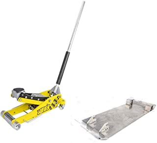 JEGS 80077K Aluminum Jack and Skid Plate Kit