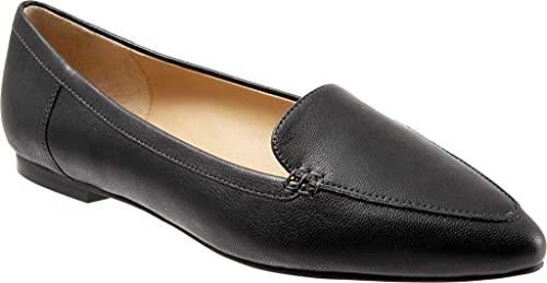 [トロッターズ] シューズ 26.5 cm スリッポン・ローファー Women's Ember Loafer Black Soft レディース [並行輸入品]