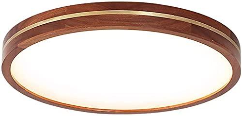 Luz de techo redondo Luz 3 colores Lámparas de atenuación de 3 colores Lámpara de techo Círculo de madera Luz de luz Moda Moda Moda Casa Pequeño Sala de estar Dormitorio Dormitorio Lámpara de sala (es