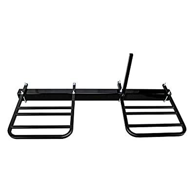 Quick Products QPRBM2R RV Bumper-Mounted 2-Bike Rack