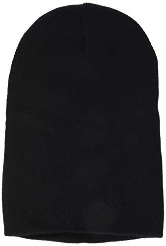 Beechfield B045.BLK Cuffed Bonnet Mixte, Noir, Taille Unique