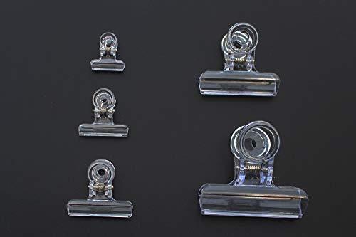 Tigofly CDC Federklammern, 5 Stück, zum Fliegenbinden, Zubehör zum Fliegenfischen (XL)