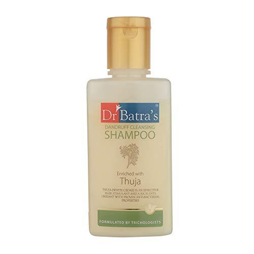 Dr Batra's Dandruff Cleansing Shampoo Enrichi en Thuja Pour 100 ml mous Hairs