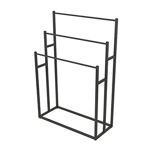 GJXJY Toallero de mano de 3 niveles para almacenamiento y organización al lado de la bañera o la ducha, para toallas de baño y manos, para toallas de mano