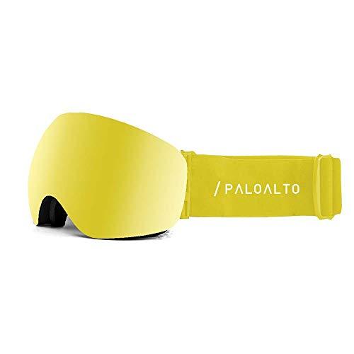 Paloalto Capitan Yellow Revo / Spherical / Anti Fog / Anti Scratch