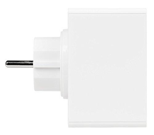 MEDION P65700 Steckdosenradio mit Bluetooth- Funktion, Bluetooth 4.2, NFC, PLL UKW Radio, integriertes Nachtlicht, weiß