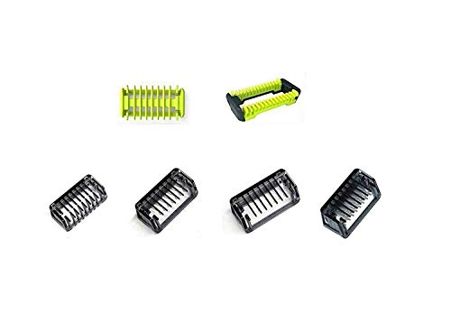 Alle Kämme Comb in Packung 1 2 3 5 mm Trimmer Clipper Haut für Philips OneBlade One Blade Rasierer QP2510 QP2520 QP2521 QP2522 QP2523 QP2530 QP2531 QP2620 QP2630 QP6505 QP6510 QP6520 QP6620