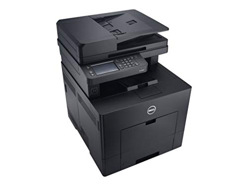 Dell C3765DNF 4-in-1 Copier Fax Scanner Multifunction Color Laser Office Printer with Cartridges N1NK7 - (Renewed)