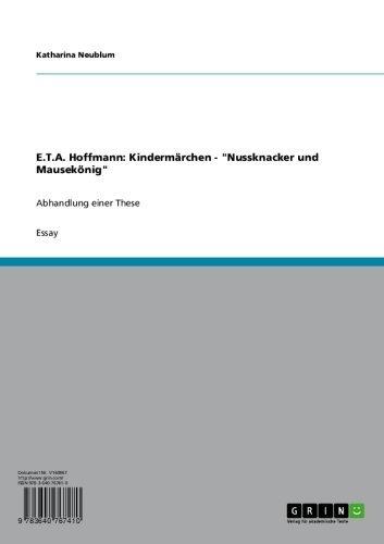 E.T.A. Hoffmann: Kindermärchen -