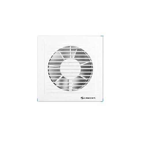 Ventilador de ventilación Ventana de Vidrio Cocina Escape Humo Pared Tipo silencioso Extractor de Aire