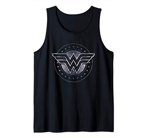 DC Comics Wonder Woman Star Shield Camiseta sin Mangas
