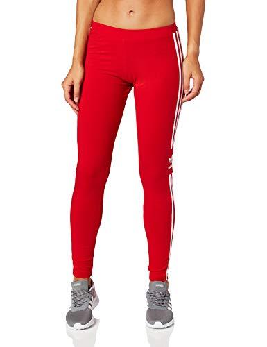 adidas Damen Trefoil Tights, Scarlet, 40