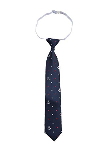 s.Oliver Jungen 64.911.91.2883 Krawatten- & Fliegen-Set, Blau (Dark Blue AOP 59b2), 2 (Herstellergröße: 2)